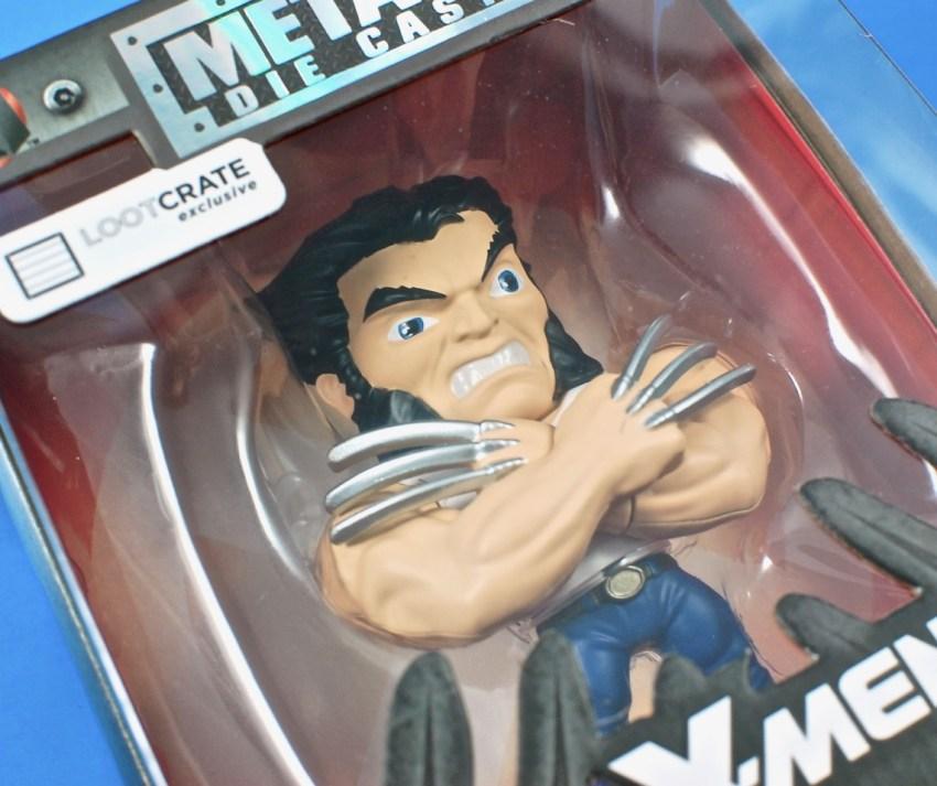 Loot Crate Wolverine figure