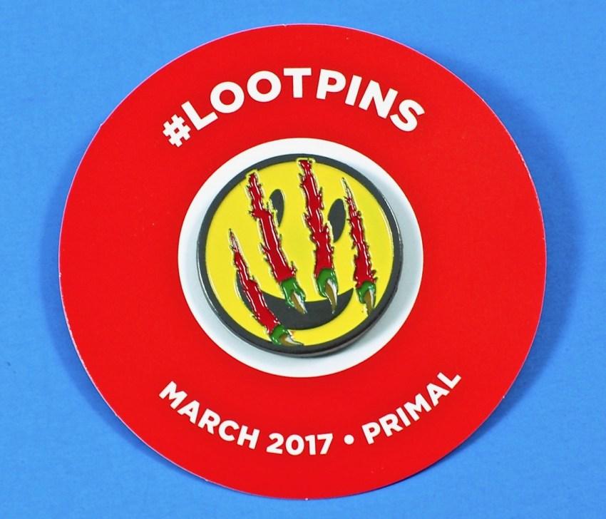 Loot Crate Primal Pin