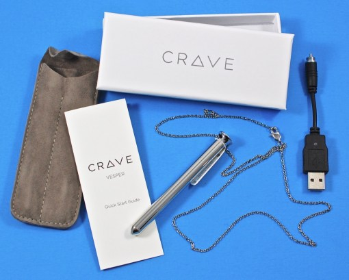 Vesper Vibrator Necklace by Crave