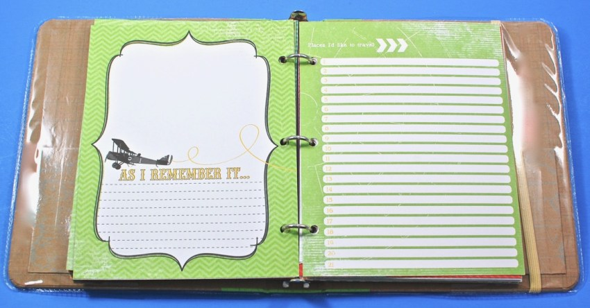 Life book travel journal