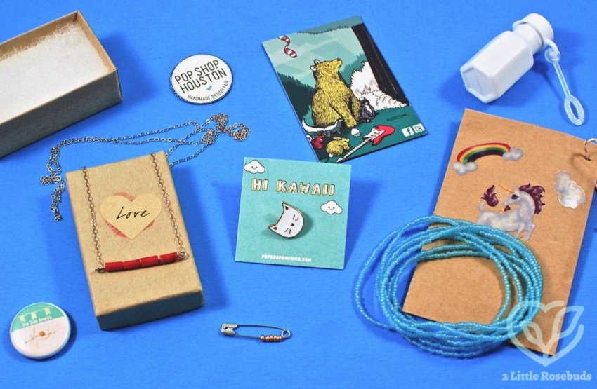 Pop Shop America February 2017 Jewelry Subscription Box Review