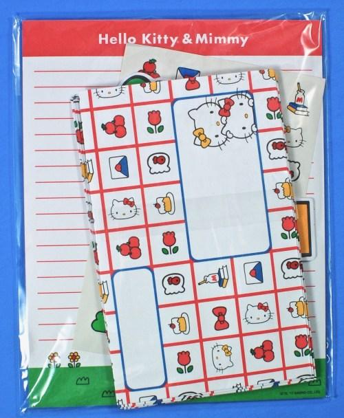 Hello Kitty & Mimmy letter set
