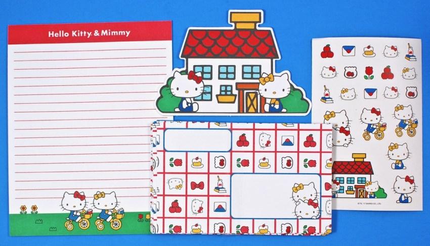 Hello Kitty Mimmy stationery