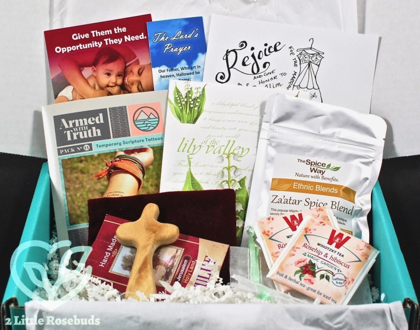 Activate Your Faith April 2017 Christian Subscription Box Review