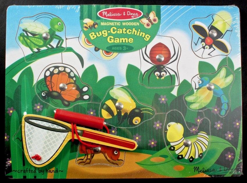 Melissa & Doug bug catching game