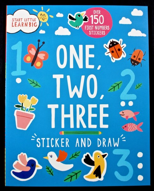 One, Two, Three sticker book