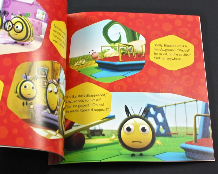 Buzzbee the Magician book