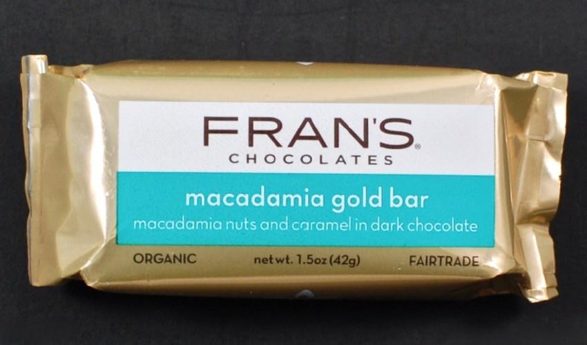 Fran's Macadamia Gold Bar