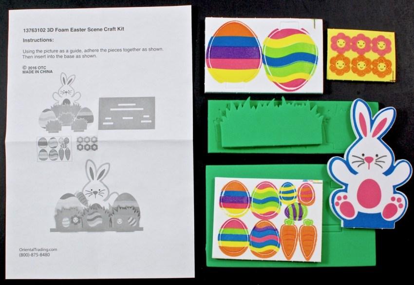 3D Easter Scene