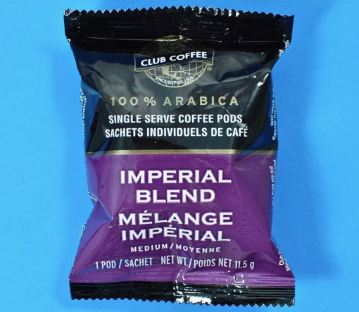 Imperial Blend coffee pod