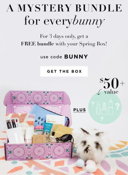 FabFitFun Easter Offer – FREE Mystery Bundle with Spring 2017 Box!