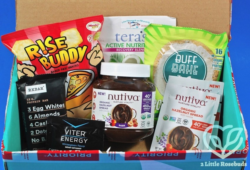Fit Snack April 2017 Subscription Box Review & Coupon Code