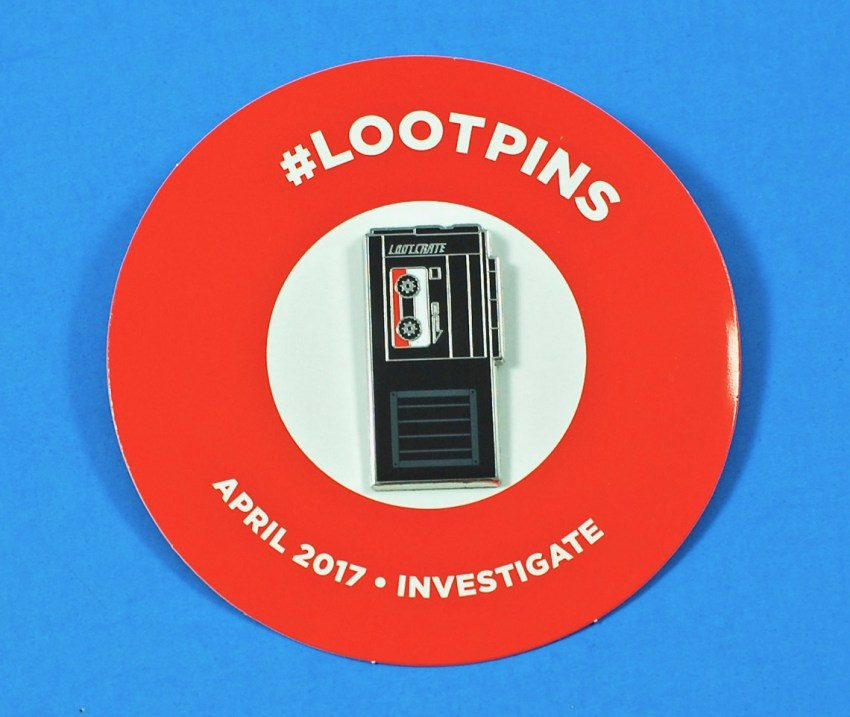 Loot Crate April 2017 pin