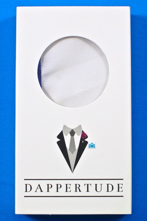 Dappertude pocket square