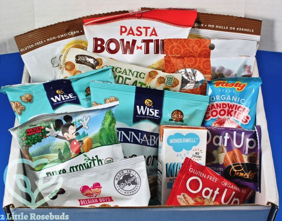 April 2017 SnackSack review