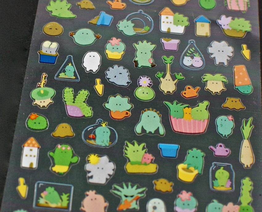 succulent stickers