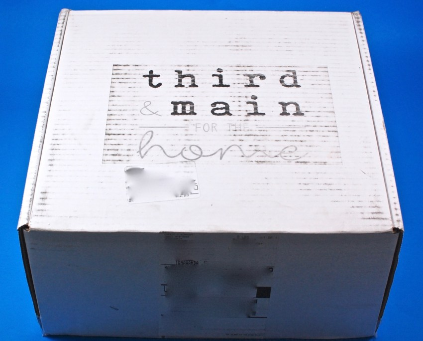 Third & Main box