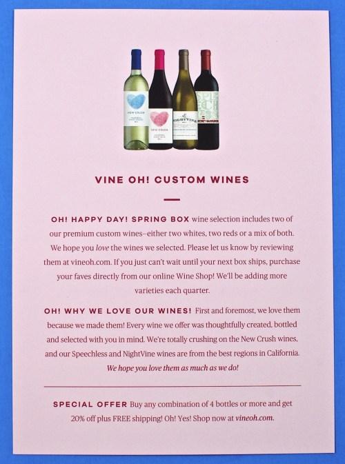 Vine Oh box