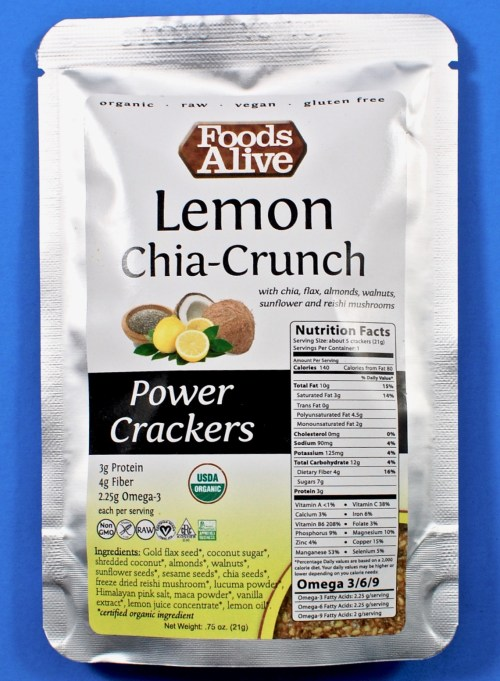 Lemon Chia Crunch