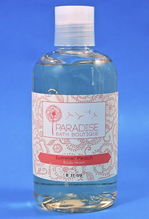Paradise Bath Boutique body wash