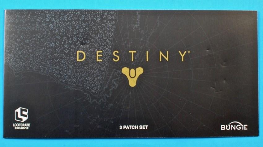 Destiny patches