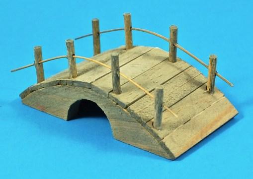 wooden fairy bridge