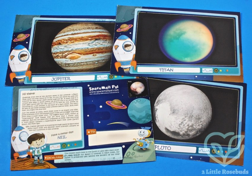 SpaceMail Pal Children's Penpal Subscription Review