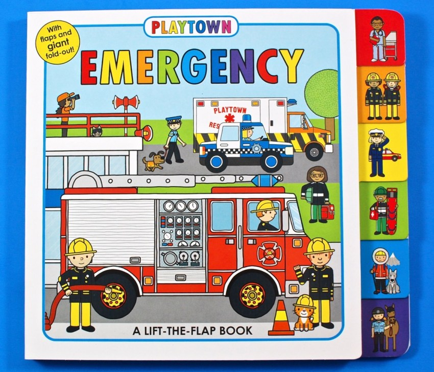 Emergency vehicles book