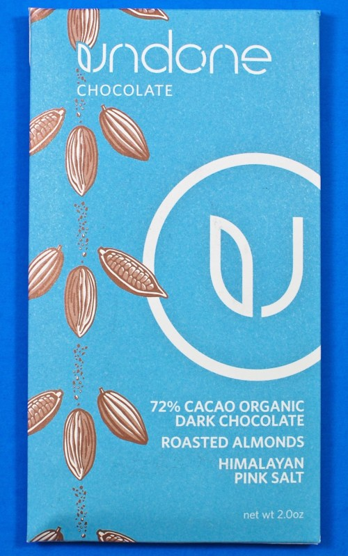 Undone chocolate bar