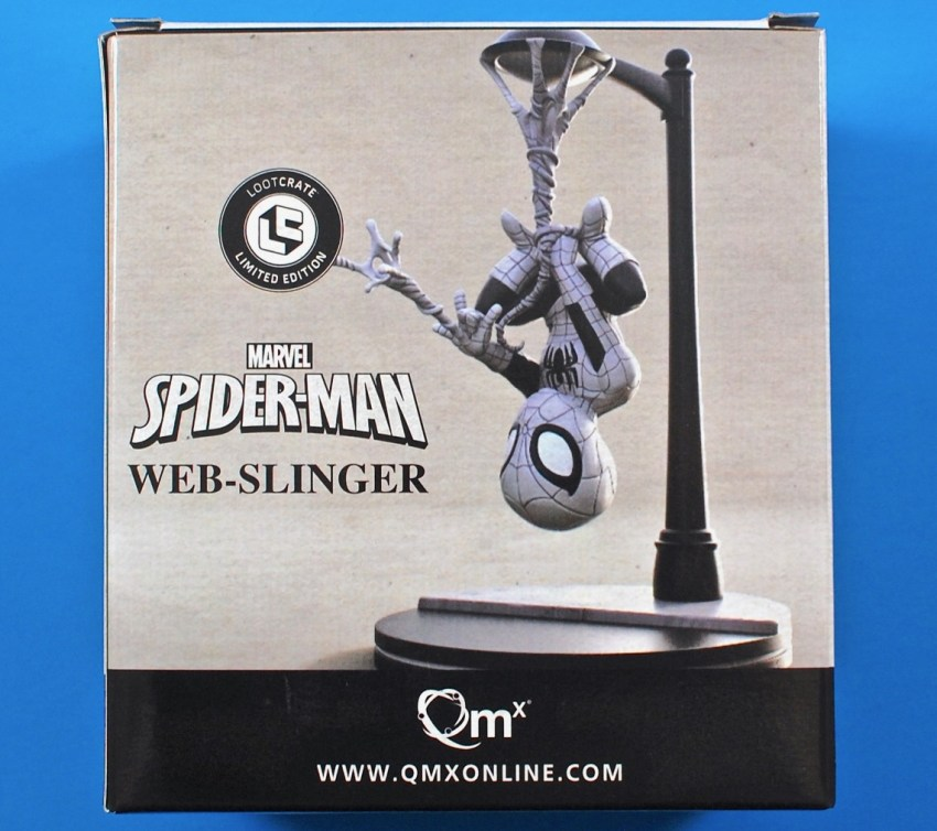 Loot Crate spider man q-fig