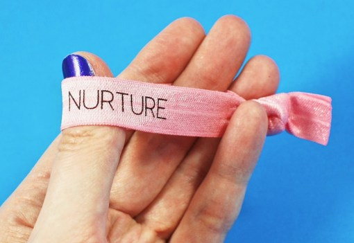 Nurture hair tie