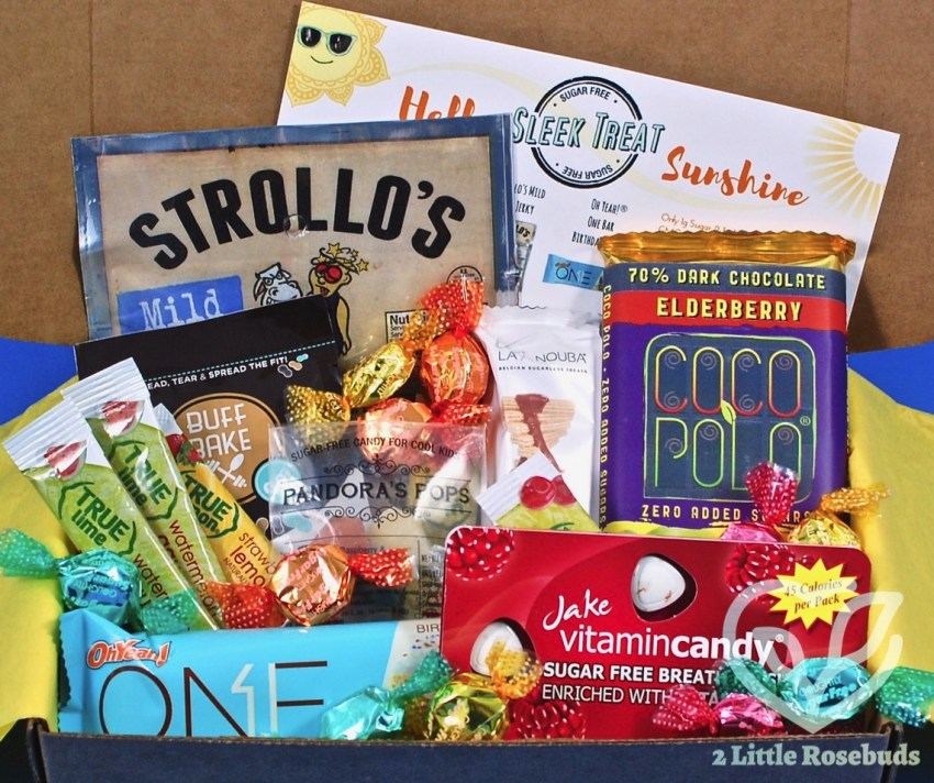 Sleek Treat June 2017 Sugar Free Subscription Box Review