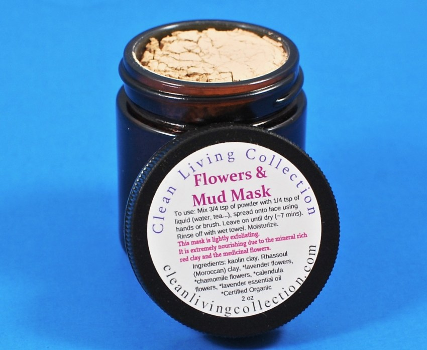 Clean Living Collection mud mask