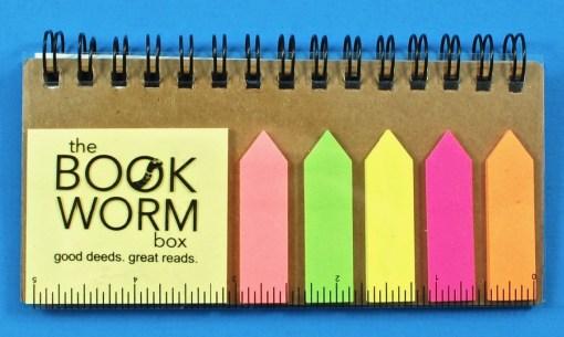 Bookworm Box post-its