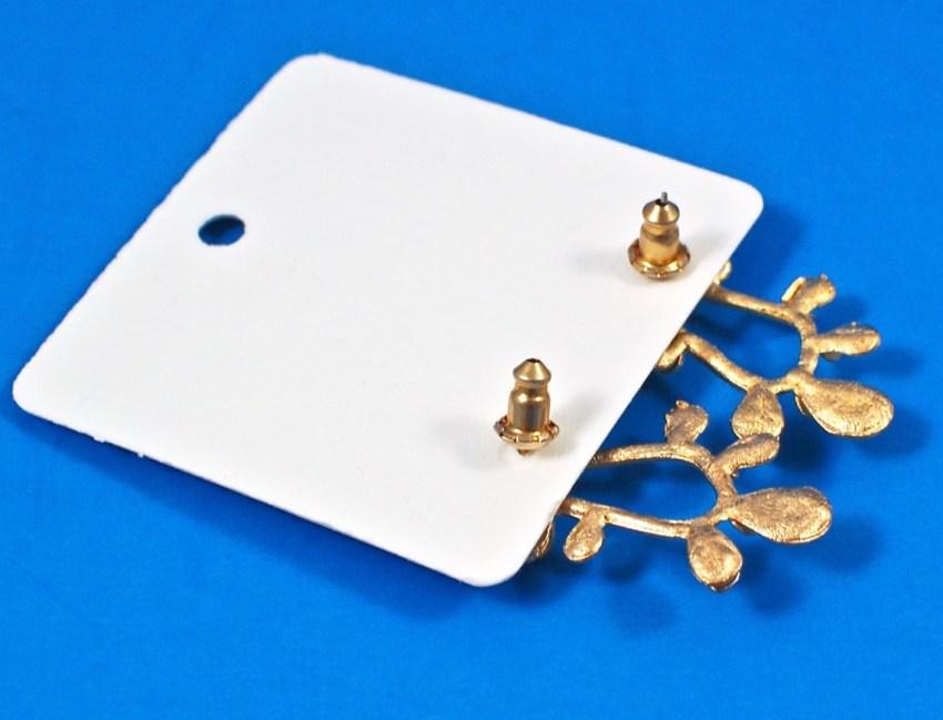 Nuance hoop earrings