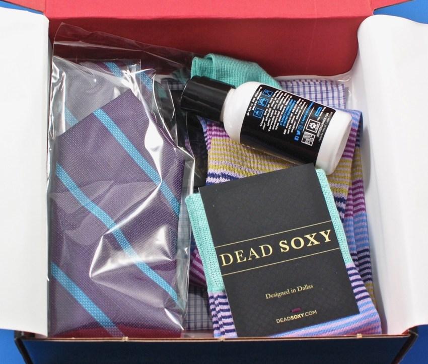 Gentleman's Box contents