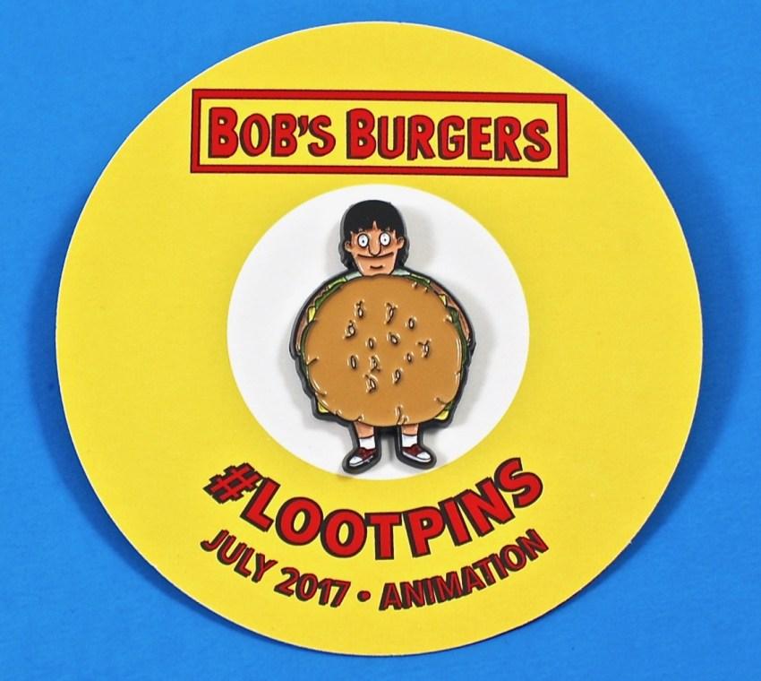 Bob's Burgers Loot Crate pin