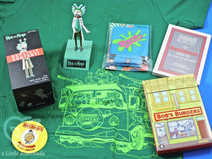 July 2017 Loot Crate review