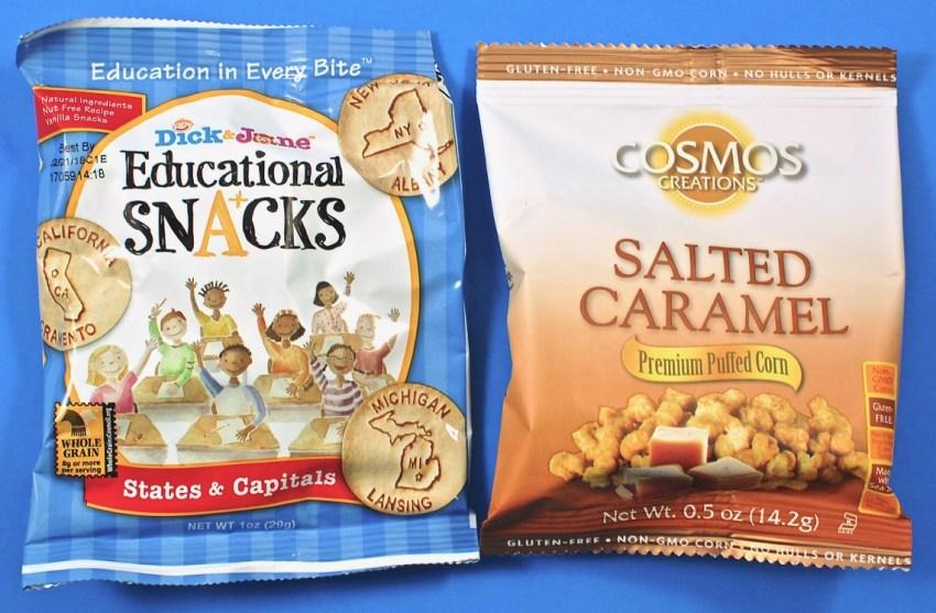 Educational snacks