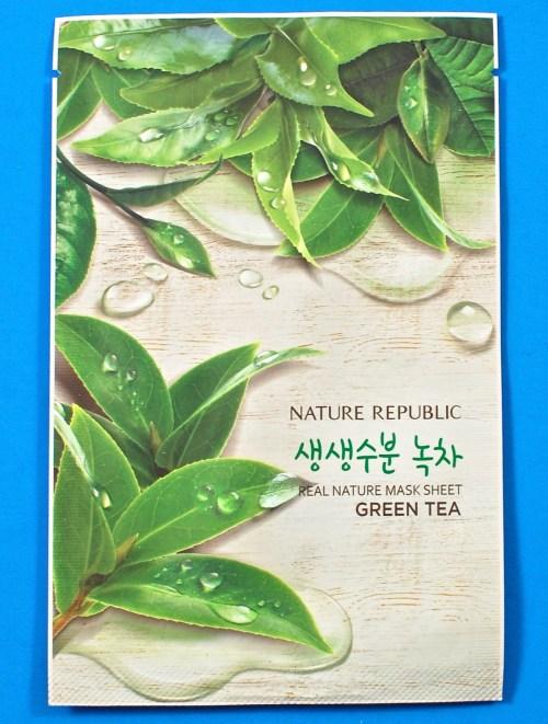 Nature Republic Green Tea mask