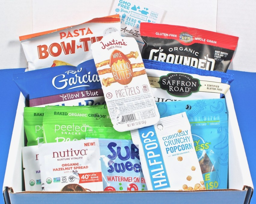 SnackSack July 2017 Subscription Box Review & Coupon Code