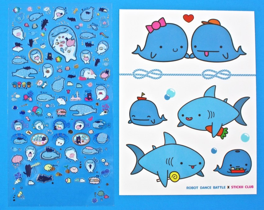 whale stickers