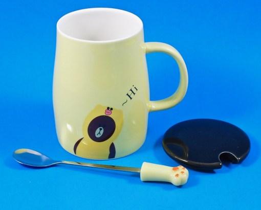 bear mug & spoon