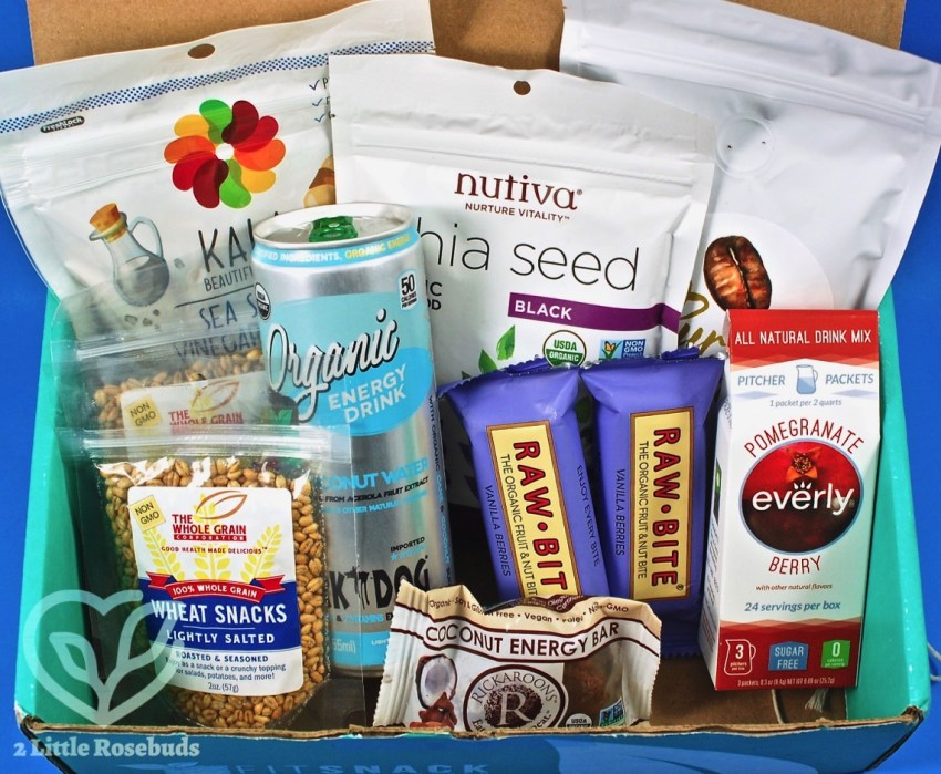 Fit Snack August 2017 Subscription Box Review & Coupon Code