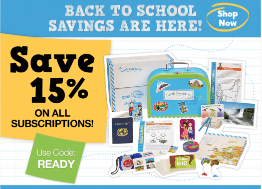 Little Passports August 2017 Coupon Code – 15% Off All Subscription Plans