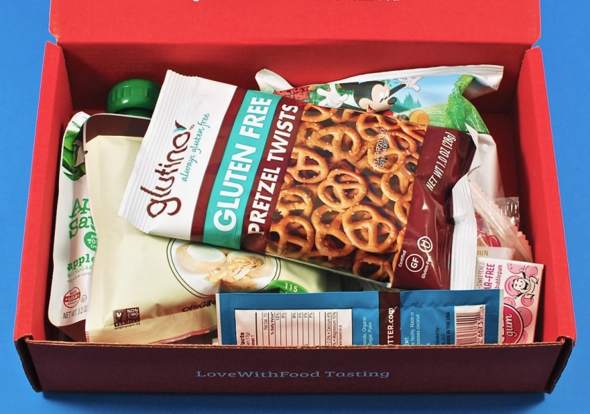 Love with food august 2017 subscription box review coupon codes love with food coupon negle Image collections