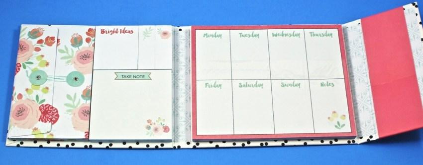 Bright Ideas weekly organizer