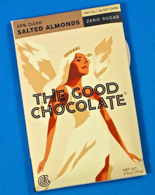 The Good Chocolate almond bar