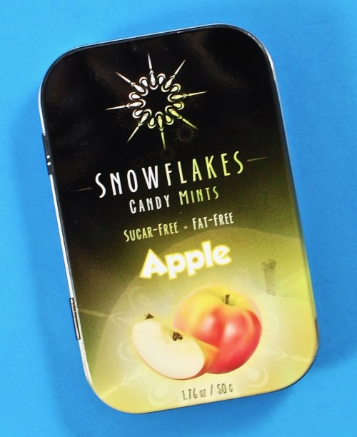 Apple snowflake candy
