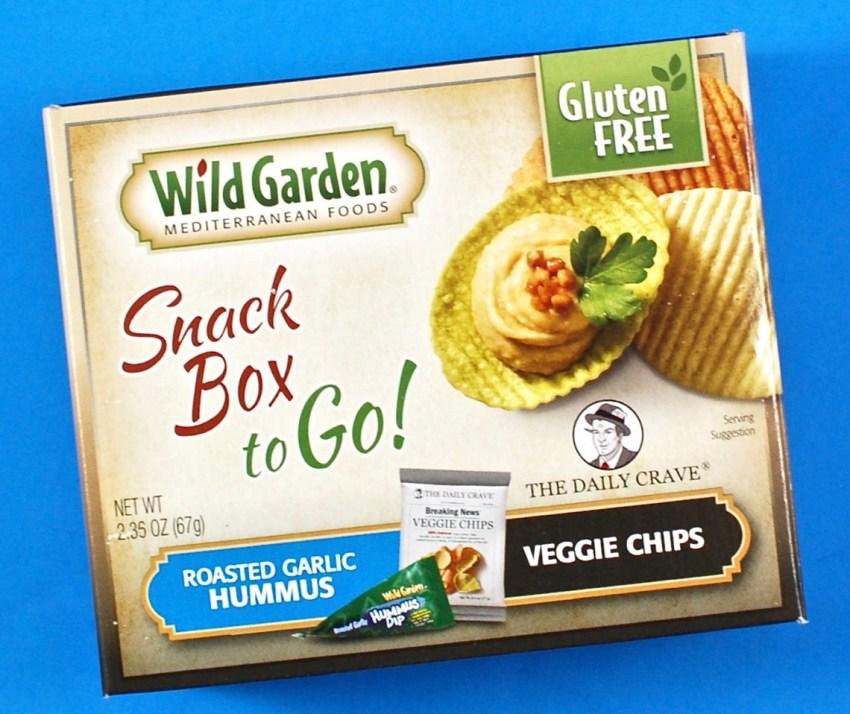 Wild Garden snack box
